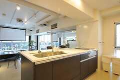キッチンもイベント利用できます。(2013-03-01,共用部,KITCHEN,2F)