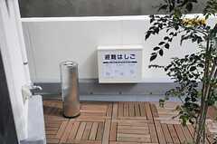 喫煙所の様子。(2013-03-01,共用部,OTHER,3F)