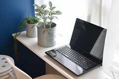 共用PCの様子。(2013-03-01,共用部,PC,6F)
