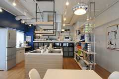 料理がはかどりそうなキッチンです。(2013-03-01,共用部,LIVINGROOM,6F)