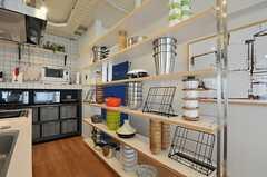 可愛らしい飾り棚。(2013-03-01,共用部,LIVINGROOM,6F)