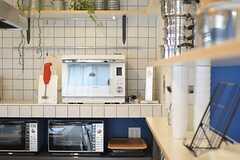 キッチン家電の様子。(2013-03-01,共用部,KITCHEN,6F)