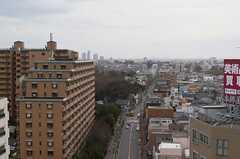 窓からの景色。(1306号室)(2013-03-01,専有部,ROOM,13F)