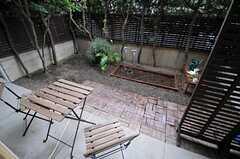 庭の様子。(2013-06-11,共用部,OTHER,1F)