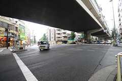 駒沢の交差点の様子。(2013-06-11,共用部,ENVIRONMENT,1F)