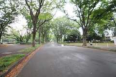 駒沢公園までは徒歩8分ほど。(2013-06-11,共用部,ENVIRONMENT,1F)