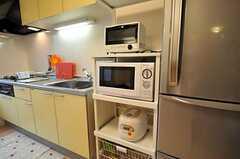 キッチン家電の様子。(2010-11-22,共用部,KITCHEN,2F)