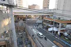 屋上から見える景色。(2011-12-19,共用部,OTHER,4F)