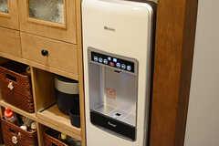 浄水器も設置されています。(2018-02-01,共用部,KITCHEN,1F)