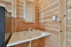 洗面台の様子。(201号室)(2020-03-13,専有部,ROOM,2F)
