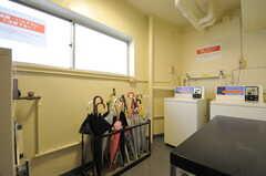 ランドリールームは、2、3Fに設けられています。(2014-01-20,共用部,LAUNDRY,2F)