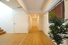 廊下の様子。(2014-01-20,共用部,OTHER,4F)