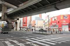 各線・三軒茶屋駅前の様子。(2014-01-16,共用部,ENVIRONMENT,1F)