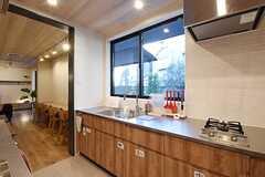 キッチンの様子2。(2016-11-07,共用部,KITCHEN,1F)