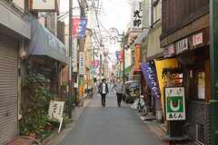 京王線・上北沢駅周辺の様子。(2016-11-07,共用部,GARAGE,1F)