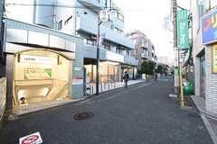 京王線・上北沢駅の様子。(2016-11-07,共用部,GARAGE,1F)