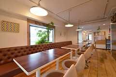 飲食店のような雰囲気です。(2014-08-26,共用部,LIVINGROOM,3F)