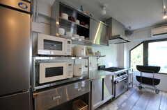 キッチンの様子。(2012-10-05,共用部,KITCHEN,3F)