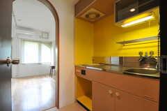 玄関から見た内部の様子。(310号室)(2012-10-05,専有部,ROOM,3F)