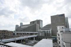 屋上からの景色。二子玉川駅もすぐ近くです。(2012-10-05,共用部,OTHER,6F)