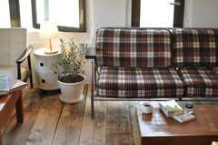 カフェのような空間です。(2012-11-04,共用部,LIVINGROOM,3F)