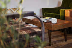 ひとめぼれして購入に至ったコーヒーテーブル。(2012-11-04,共用部,LIVINGROOM,3F)