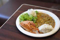 ガーナ料理ベースの料理。(2014-10-02,共用部,PARTY,3F)