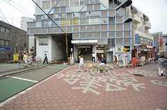 東急池上線・雪が谷大塚駅の様子。(2014-10-10,共用部,ENVIRONMENT,1F)