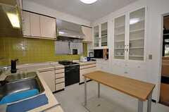 キッチンの様子3。(2009-11-10,共用部,LIVINGROOM,1F)
