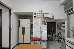 キッチンの様子4。(2013-02-22,共用部,KITCHEN,1F)