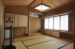 広い和室です。(202号室)(2013-02-22,専有部,ROOM,2F)