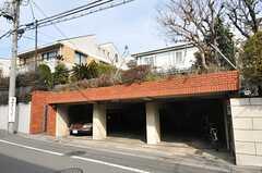 駐輪場の様子。(2013-02-22,共用部,GARAGE,1F)