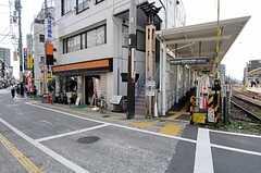 東急世田谷線・松陰神社前駅の様子。(2011-09-29,共用部,ENVIRONMENT,1F)