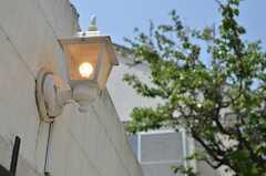 白いランプが良い感じの雰囲気です。(2013-05-10,共用部,GARAGE,1F)