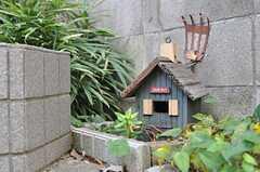 ちいさなお家のオブジェもあります。(2013-10-20,周辺環境,ENTRANCE,1F)