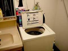 洗濯機(2005-07-14,共用部,LAUNDRY,1F)