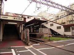 東松原駅の様子。(2005-07-14,共用部,ENVIRONMENT,)