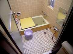 バスルームの様子。(2005-07-14,共用部,BATH,1F)