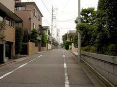 東松原駅からシェアハウスへ向かう道の様子。(2005-07-14,共用部,ENVIRONMENT,)