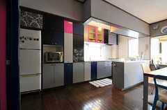キッチン全体の様子。(2011-05-10,共用部,KITCHEN,2F)