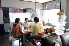 取材時の様子。(2011-08-08,共用部,PARTY,2F)