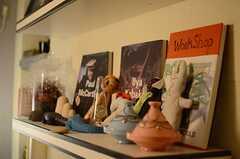 人形や小物が増えたました。(2014-06-19,共用部,LIVINGROOM,2F)