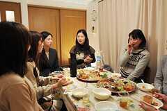 パーティーの様子。(2013-01-27,共用部,PARTY,2F)