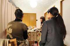 パーティーの様子2。(2013-01-27,共用部,PARTY,2F)