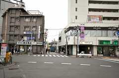 東急田園都市線・用賀駅前の様子。(2010-02-16,共用部,ENVIRONMENT,1F)