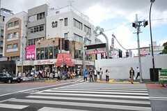 竹下通りへも徒歩1分です。(2012-09-17,共用部,ENVIRONMENT,1F)