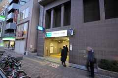 都営大江戸線・西新宿五丁目駅の様子。(2010-12-28,共用部,ENVIRONMENT,1F)
