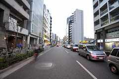 都営大江戸線・西新宿五丁目駅前の様子。(2010-12-28,共用部,ENVIRONMENT,1F)