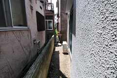 庭の様子。(102号室)(2012-05-29,専有部,ROOM,1F)