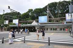 JR山手線・原宿駅の様子。(2012-05-29,共用部,ENVIRONMENT,1F)